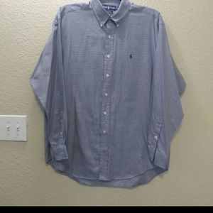Ralph Lauren Blake Dress shirt Large